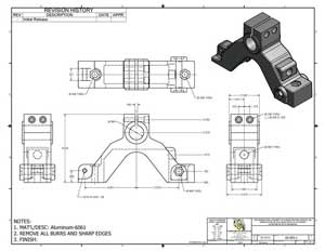 Mechanical Engineering Drafting and Design