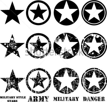 Military Star Clip Art