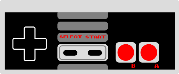 12 NES Game Controller Icon Images