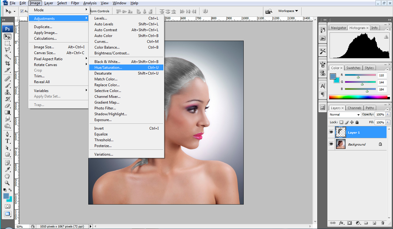 Photoshop Tutorials CS4 Beginners