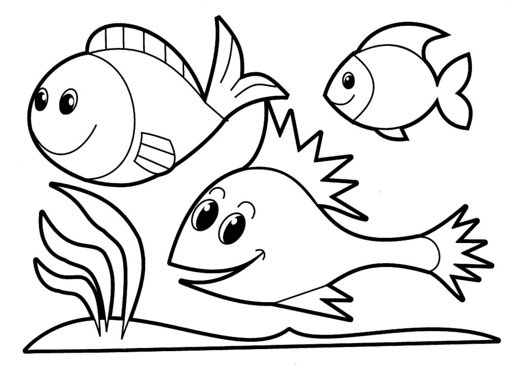 Printable Animals Coloring Pages for Kids to Color
