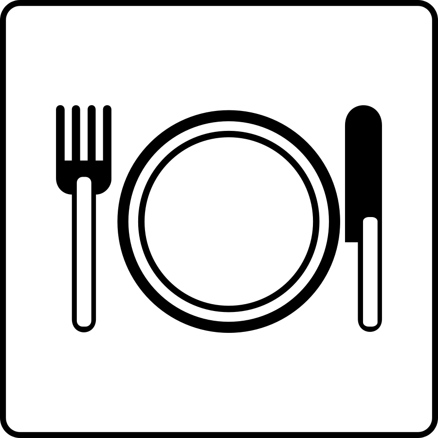 18 Dining Clip Art Vector Images