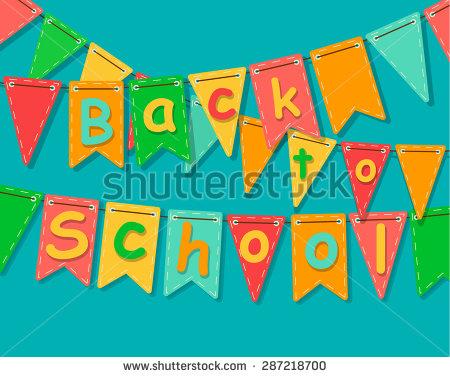 School Carnival Banners Clip Art