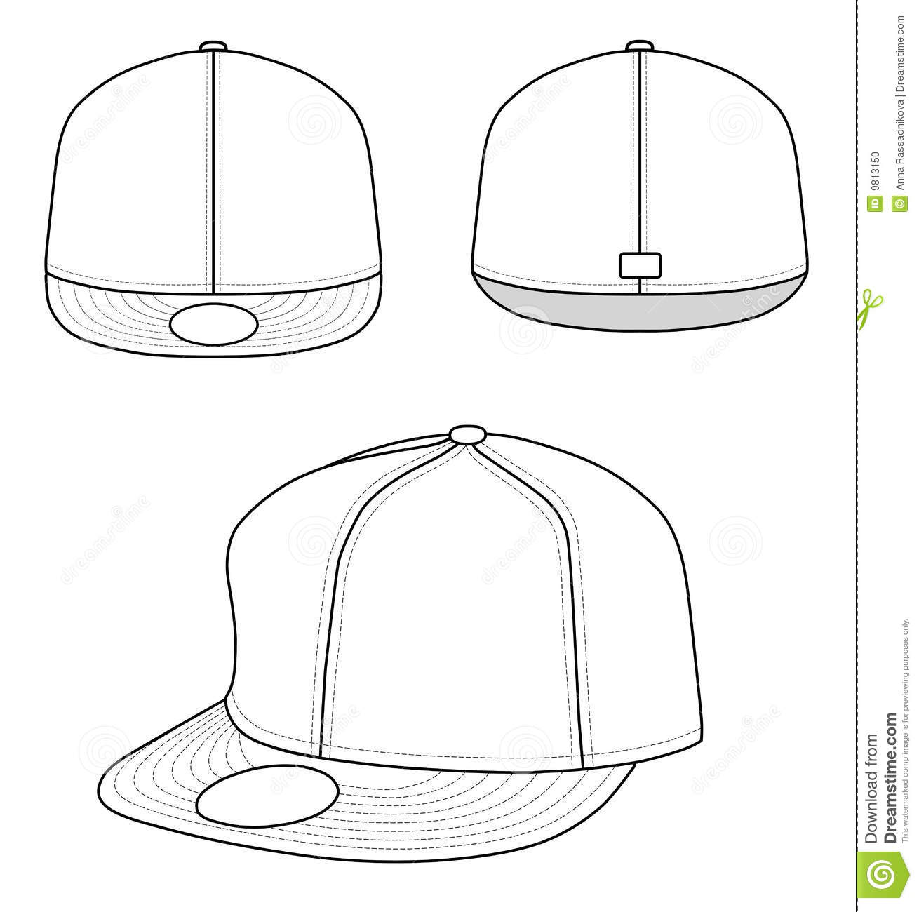 18 hat template vector images bucket hat template baseball cap vector template and baseball. Black Bedroom Furniture Sets. Home Design Ideas