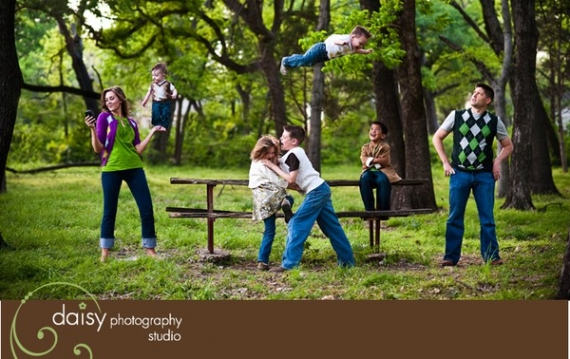 Unique Family Photography Ideas