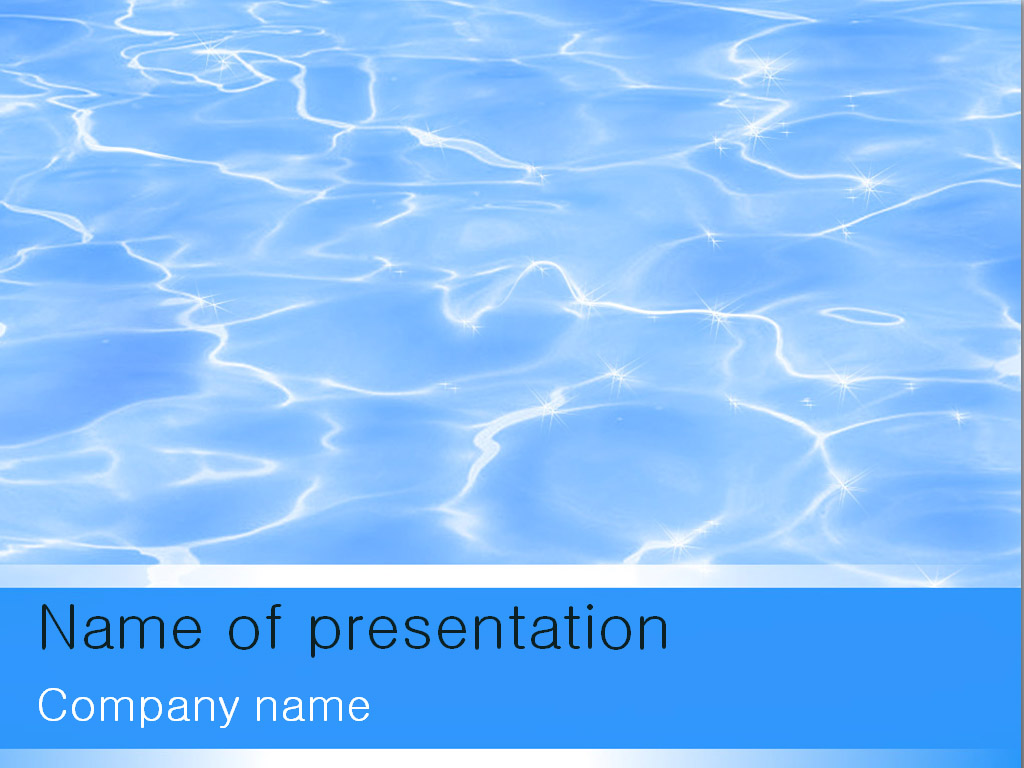 Water PowerPoint Templates Free Download