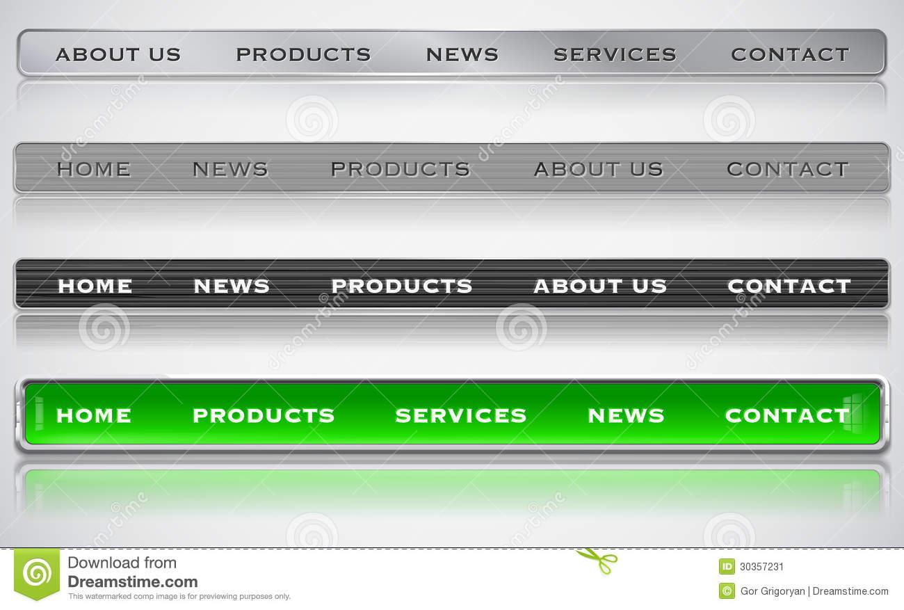 8 Web Design Menu Bar Images Vertical Website Menu Designs Website Menu Bar Designs And Web Design Navigation Bar Newdesignfile Com