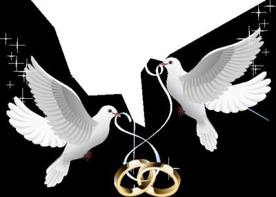 Wedding Invitation Background New Doves Invitations Blue