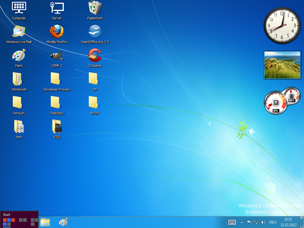 17 Windows 8 Desktop Icons Missing Images