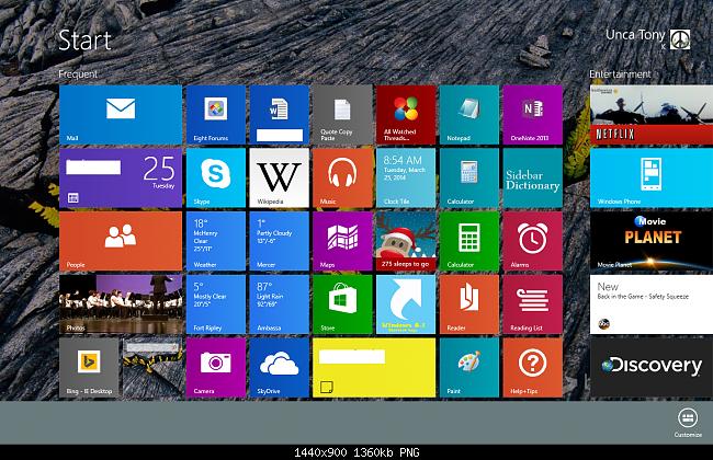 how to change program icon windows 8