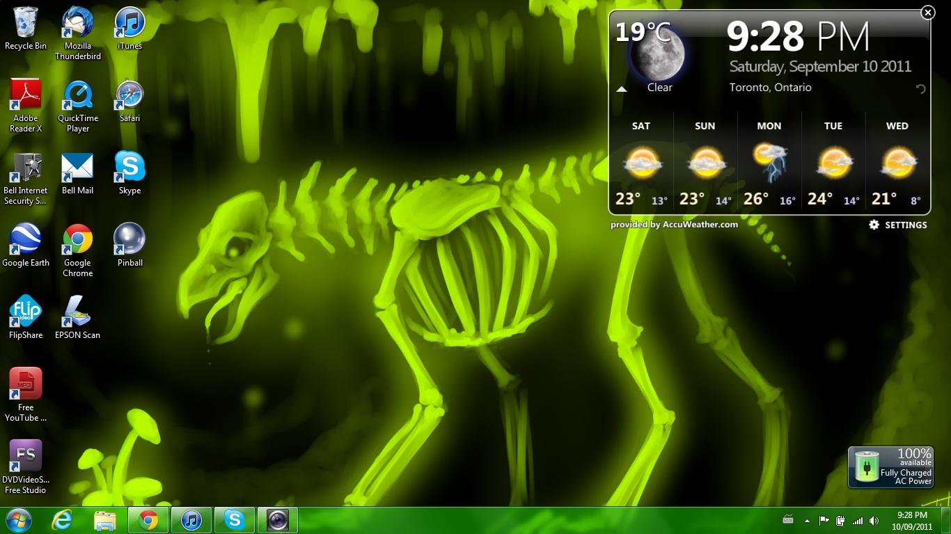 Анимация на рабочий стол windows 7 как сделать 12