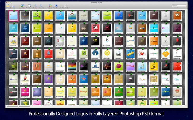 Adobe Photoshop Logo Templates