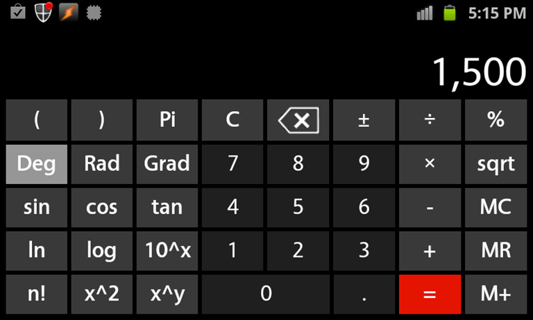 Android Calculator App