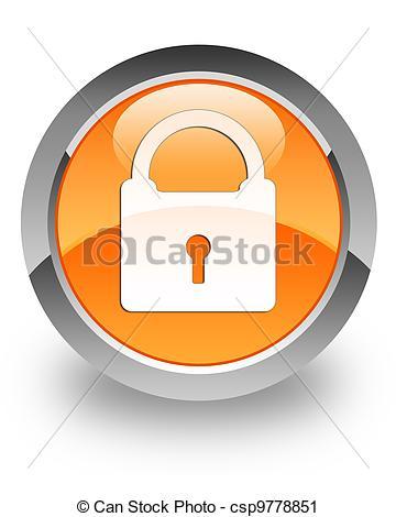 Art Clip Padlock Icon
