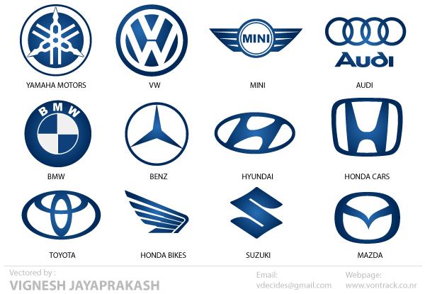 15 Free Automotive Logo Icons Images