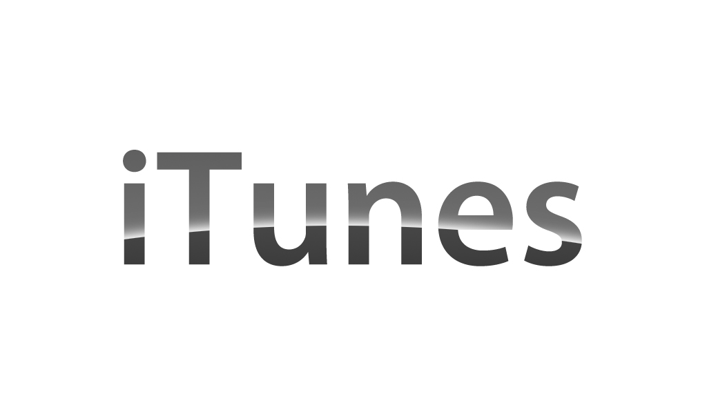 Available On iTunes Logo PSD