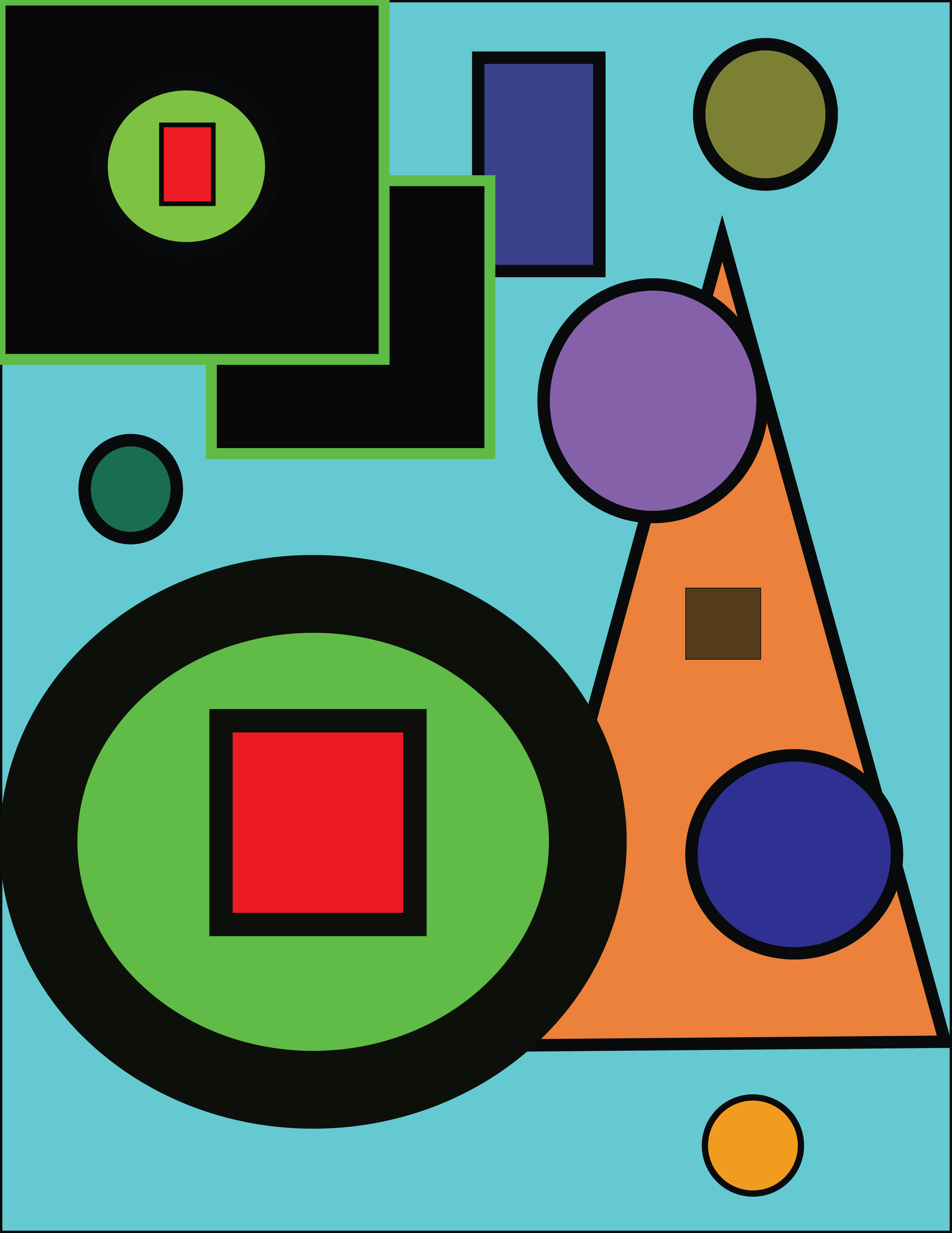 Shapes Designs Art : Simple shape designs images basic design elements
