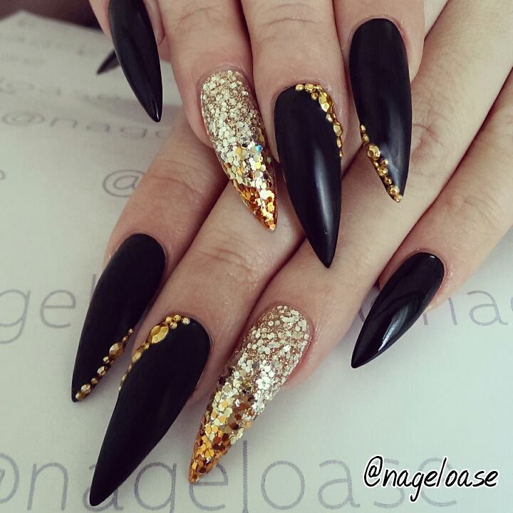Useful topic nail stiletto art designs