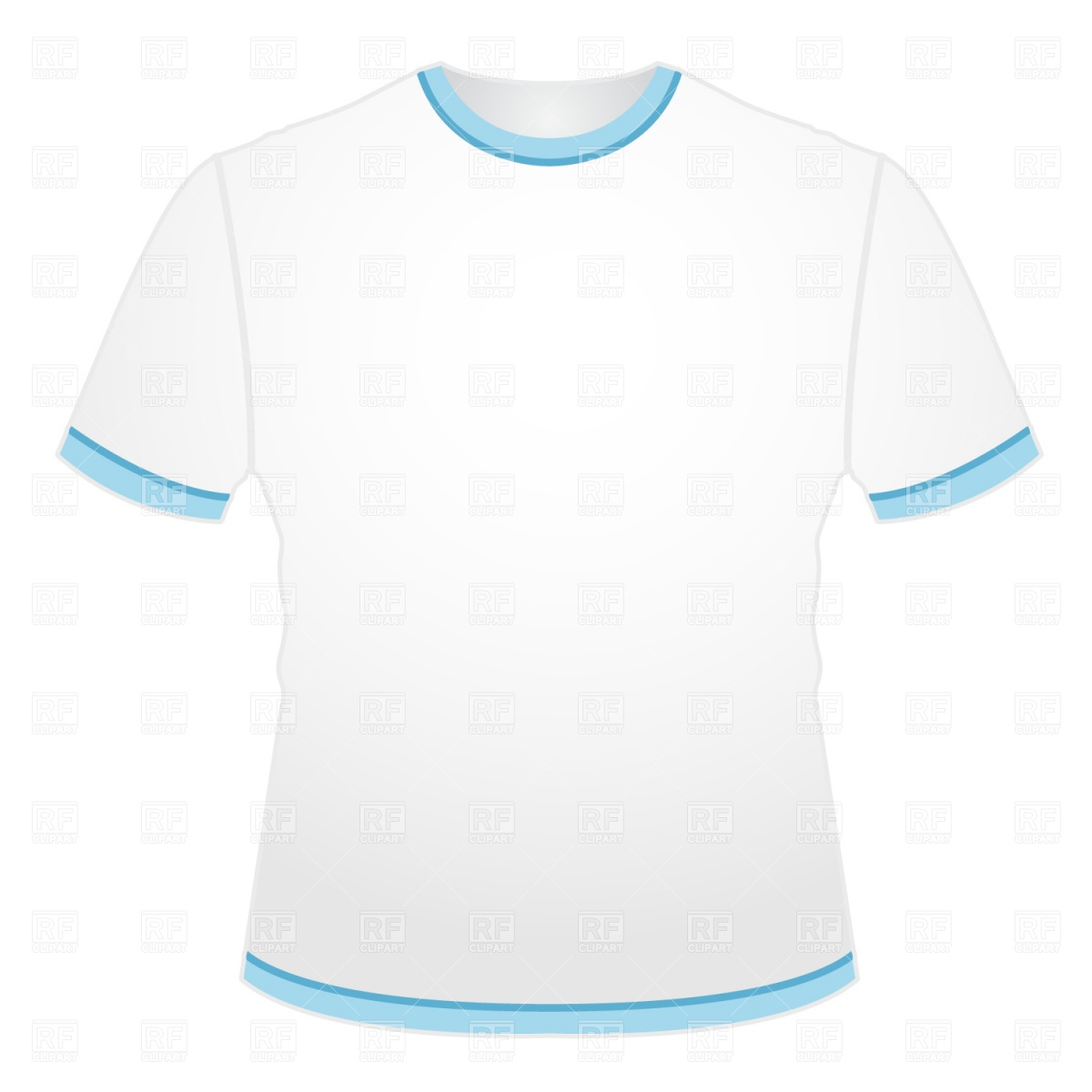 Blank T-Shirt Template Free Download