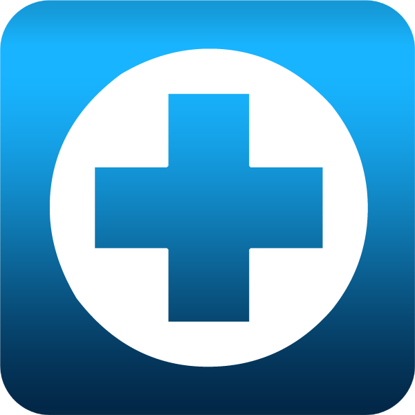 16 Blue Medical Cross Icon Images