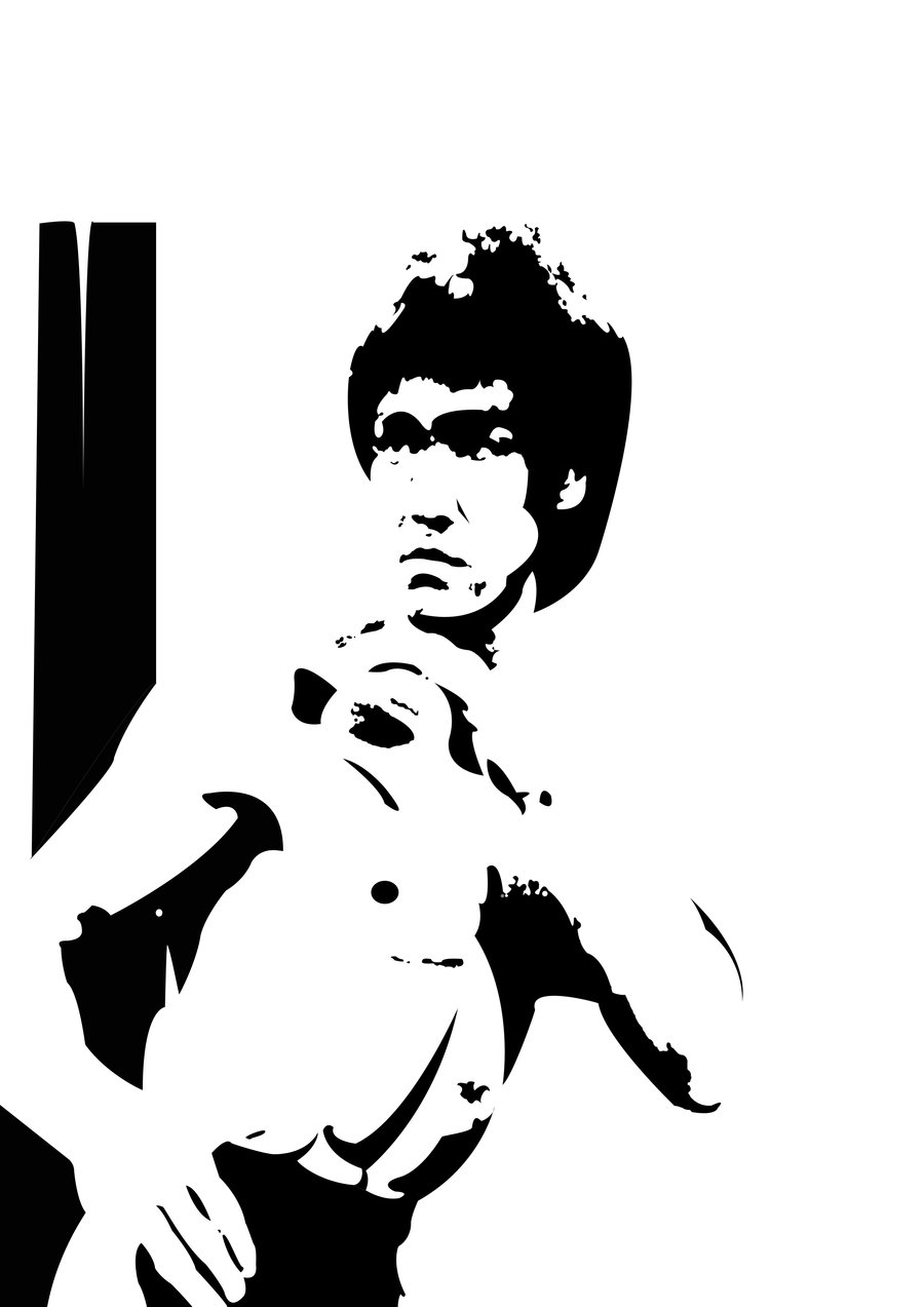 16 Bruce Lee Vector Art Images