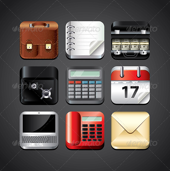 Business Icon for Mobile Devices