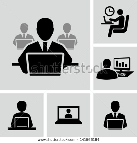 11 Computer Vector People Images