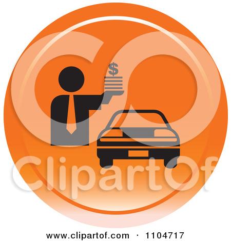 Car Icon Orange