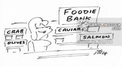 Cartoon Food Bank