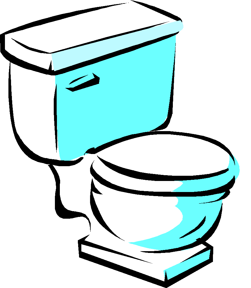 Cartoon Toilet Clip Art Free