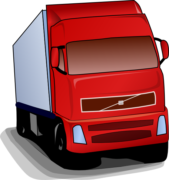 Cartoon Truck Clip Art
