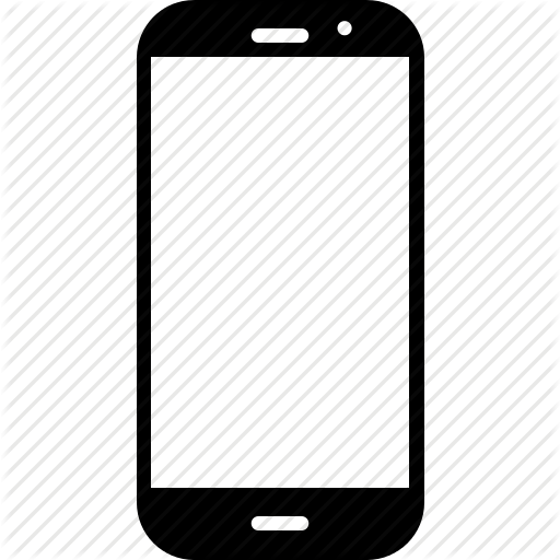 Cell Phone Icon Symbols
