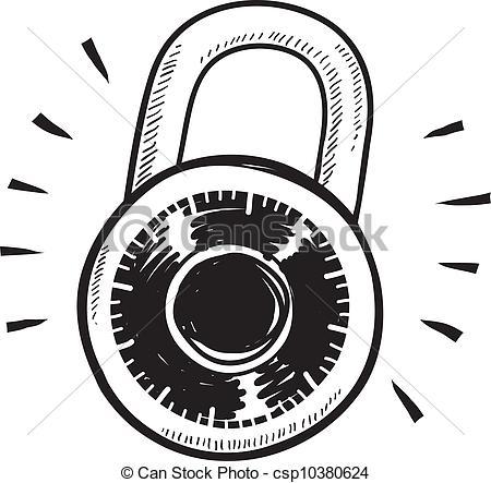 13 Lock Icon Line Art Images