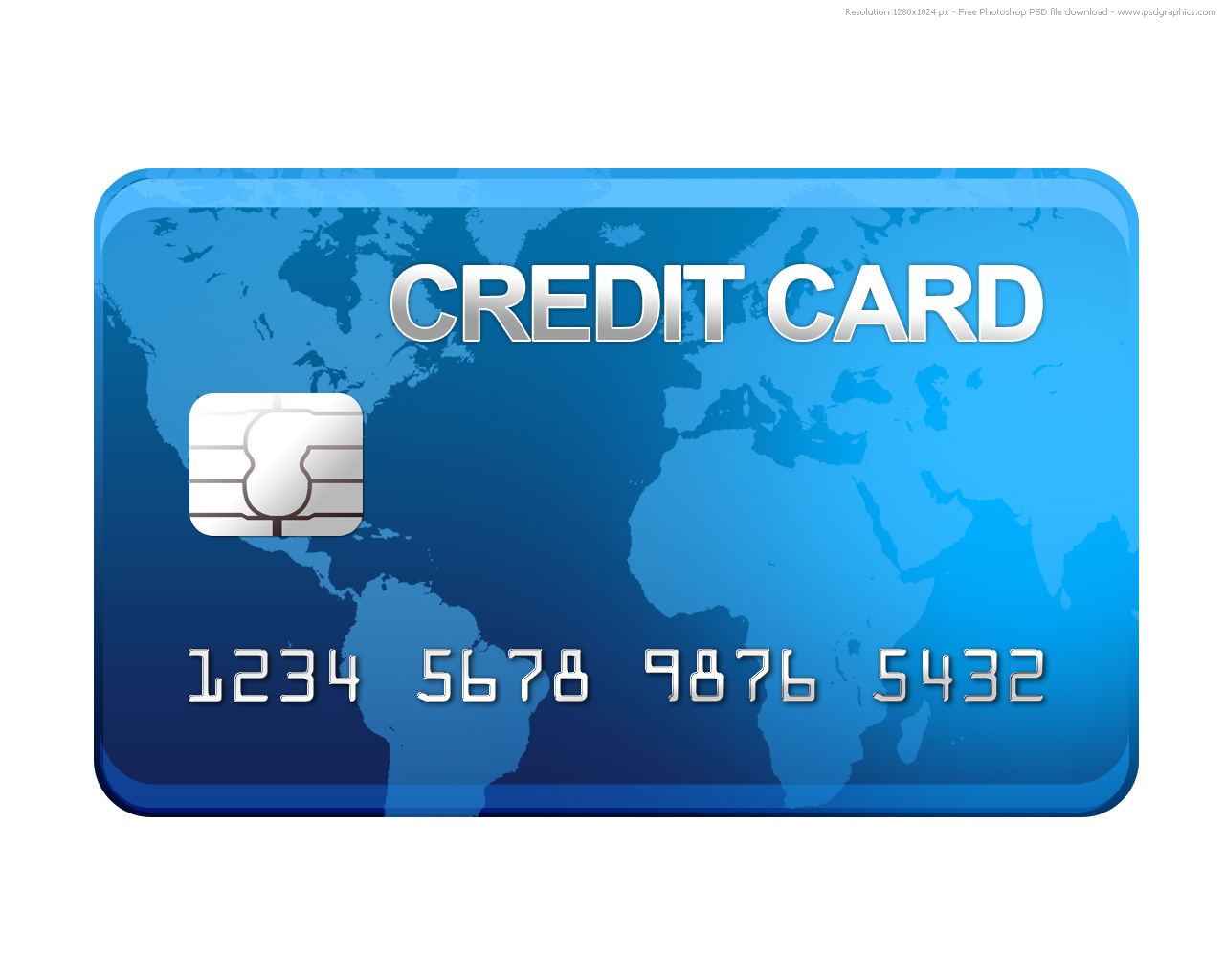 16 PSD Of A Credit Card Images
