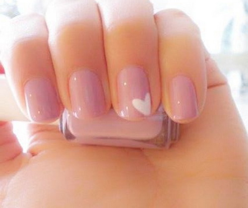 Cute Easy Nail Designs Pink