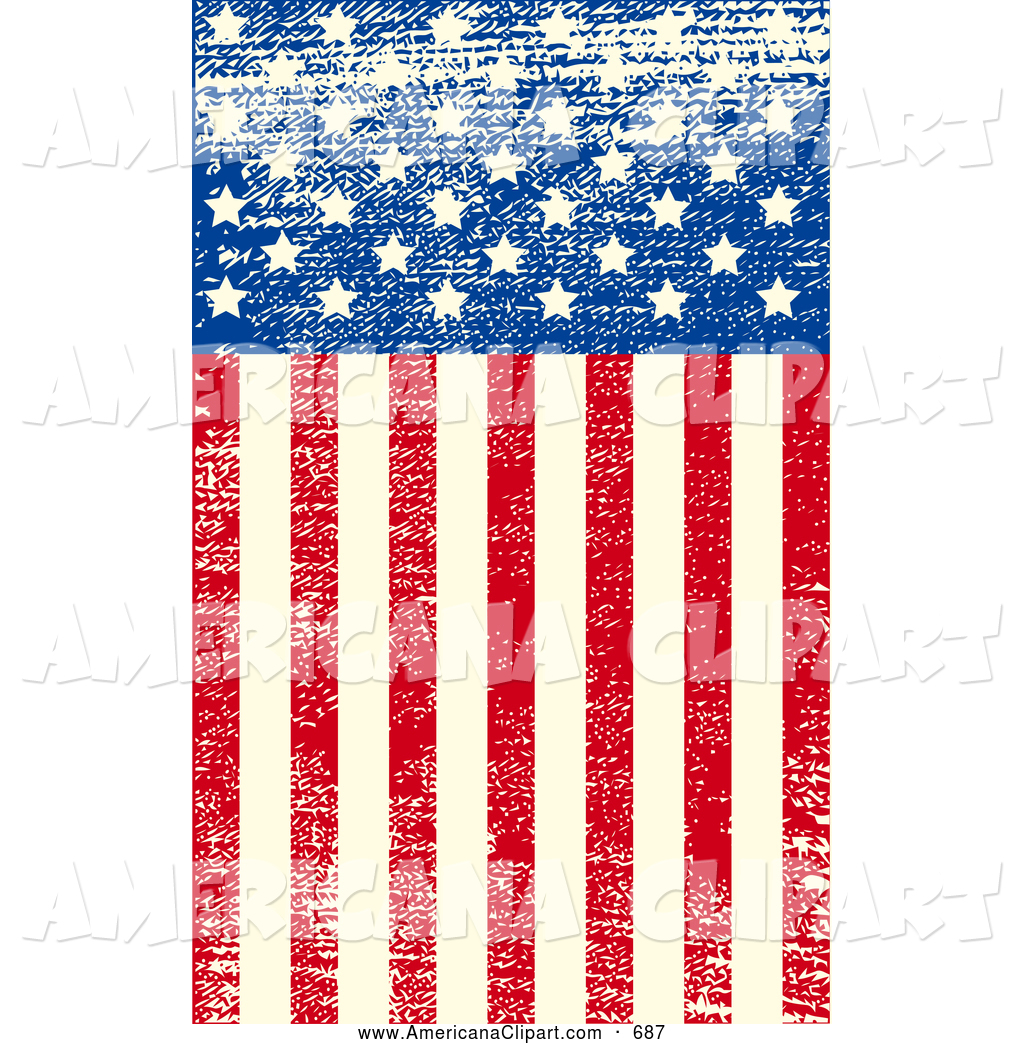 15 Distressed American Flag Vector Art Images