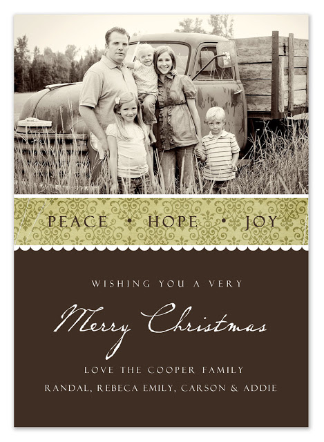 Downloadable Christmas Card Templates
