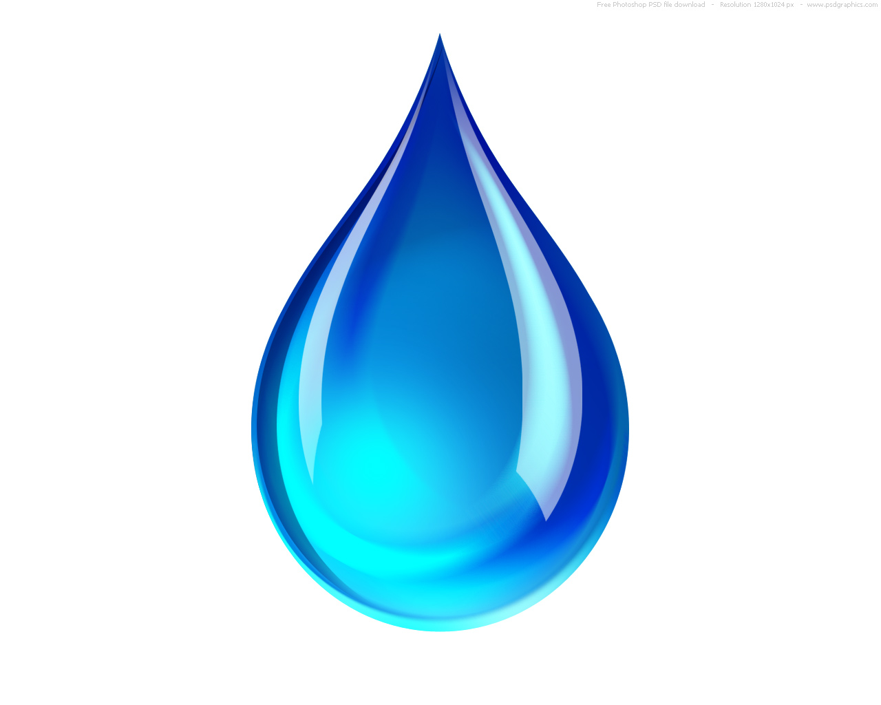 19 Water Droplet Icon Blue Background Images