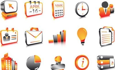 Free Clip Art Business Icons