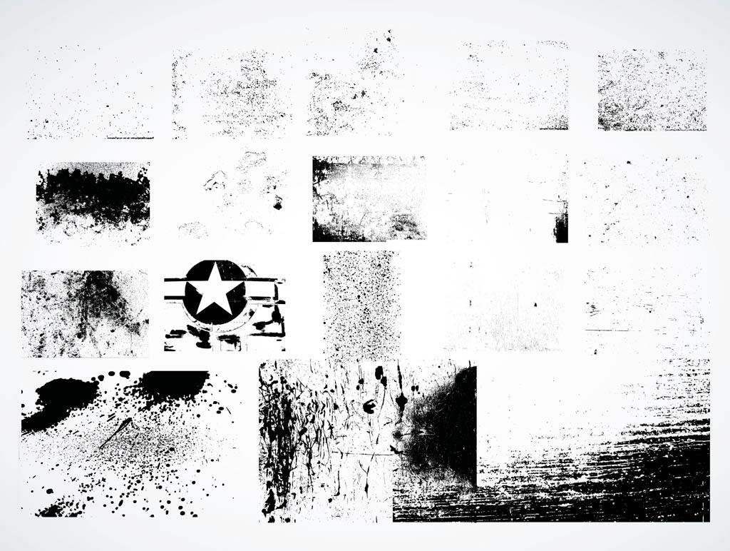 18 Grunge Background Vector Images