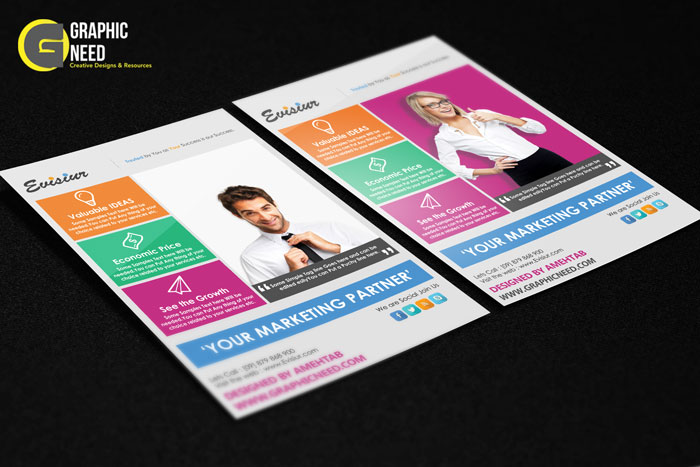 Free PSD Flyer Templates Download