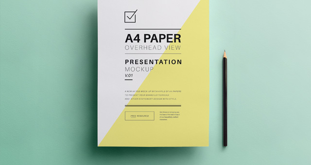 11 Paper Mock Up Psd Free Images
