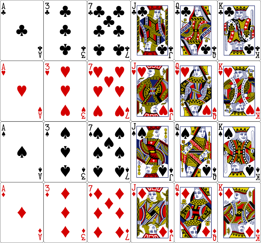 14 Playing Card Vector Images