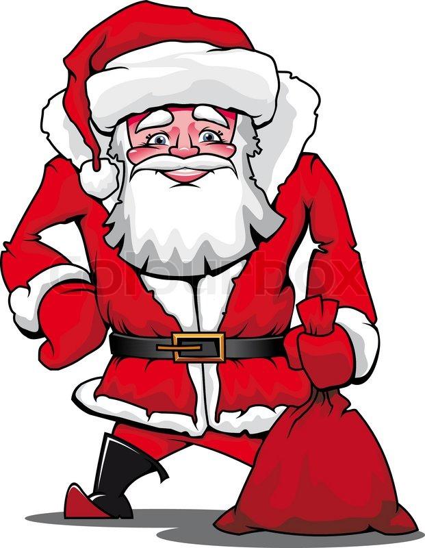 Funny Christmas Santa Claus
