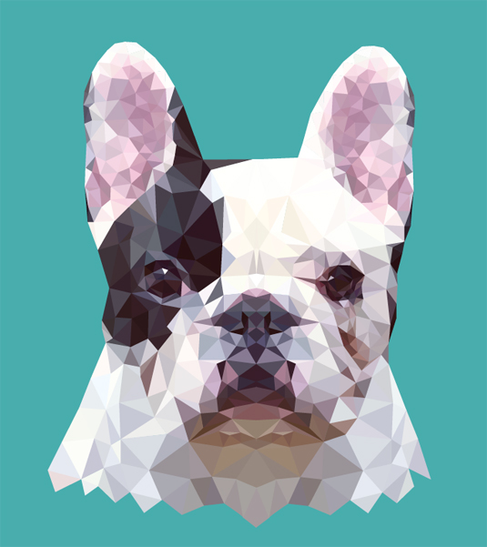 16 Geometric Vector Animals Images