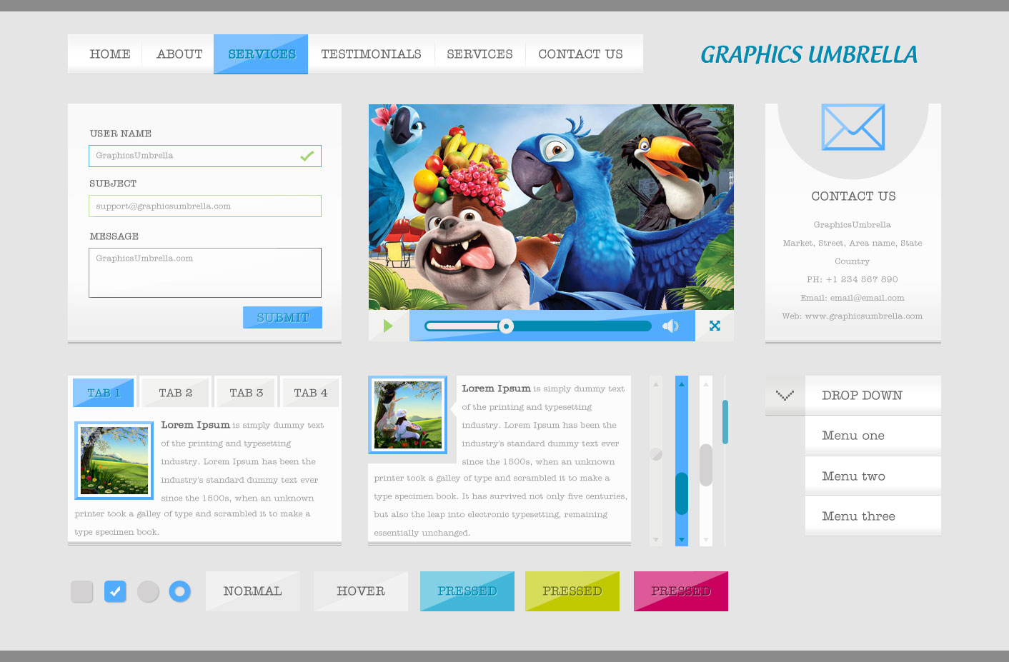 Graphic Design Templates Free Download
