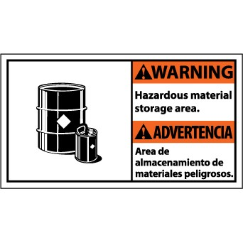Hazardous Material Warning Signs