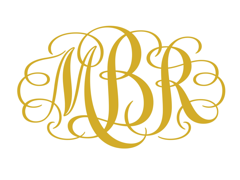 Interlocking Monogram Font Free Download