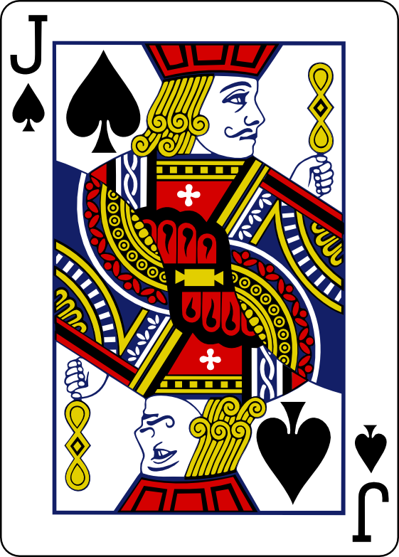 Jack Playing Card Vector
