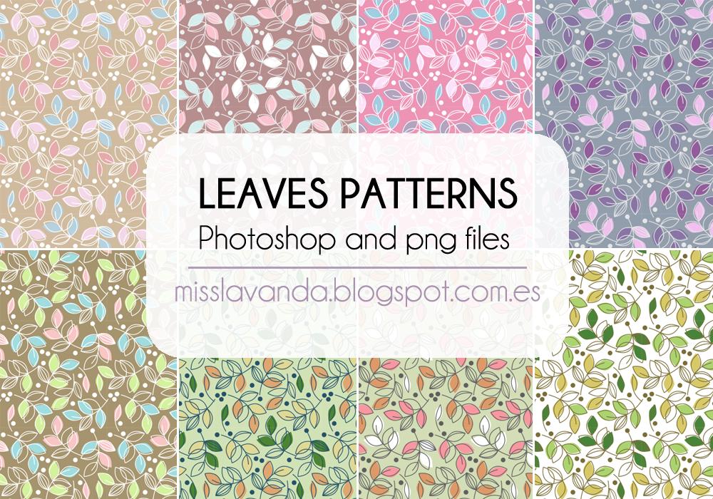 Leaf Pattern Photoshop